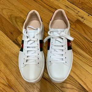 Gucci Ace embroidered platform sneaker